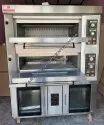 Berjaya Baking Oven 2 Deck Gas 8 Pans Proofer
