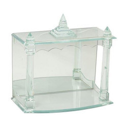 Transparent Glass Temple