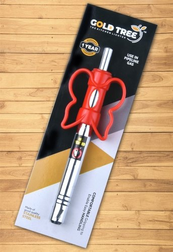 Red Gold Tree Kitchen Gas Lighter
