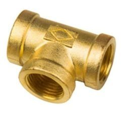 Brass Female Tee