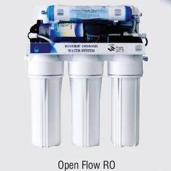 白色壁挂式开放式流量RO净水器,包装类型:盒子,容量:10-15升