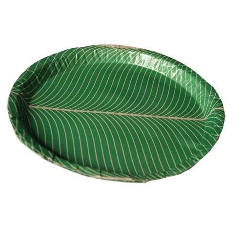 Green Leaf Paper Plate  sc 1 st  IndiaMART : paper plates - pezcame.com
