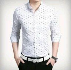 40.0 & 42.0 Printed Formal Mens Shirt