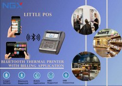 Software For Ice Cream Parlour with BlueTooth Printer