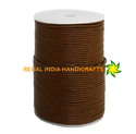 Brown Round Leather Cord