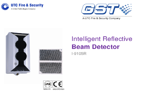 gst intelligent reflective beam detector a g technologies, new gst beam detector i-9105r wiring diagram gst beam detector wiring diagram #1