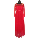 Saniddhya Party Wear Ladies Red Gown