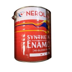 High Gloss Wood, Metal Nerolac Synthetic Enamel Paint, Packaging Type: Can