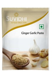 Suvidhi Ginger Garlic Paste, Packaging Size: 10 g, Packaging Type: Pouch