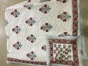 Jaipuri Cotton Quilted Block Printed Quilts