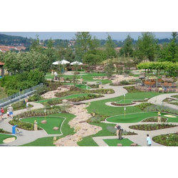 Artificial Grass Mini Golf Course