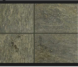 D Green Natural Slate Stone