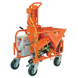 Automatic Cement Plaster Machine