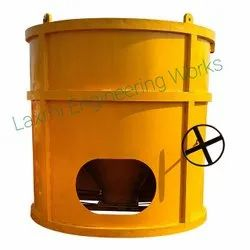 Chain Sprocket Operated Concrete Bucket
