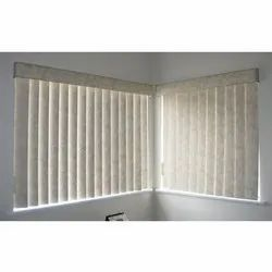Polyester Window Hospital Vertical Blinds