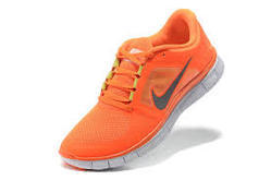 Orange Men Nike Shoes, Size: 8