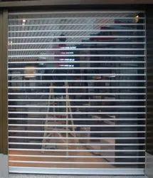 Transparent Polycarbonate Rolling Shutter