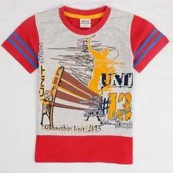 bibosa cotton Kids Printed T-Shirt