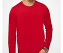 Red Round Neck Full Sleeves