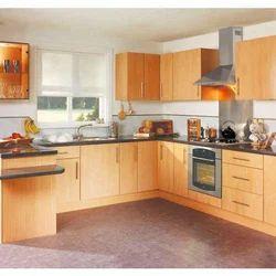 Residential MDF Modular Kitchen, Warranty: 1-5 Years