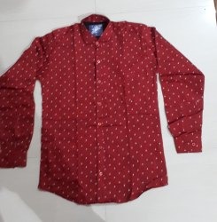 Shirt Satin Cotton Printed