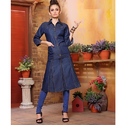Ladies Designer Denim Kurti