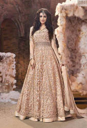 Georgette Zari Anarkali Suit