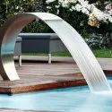 Commercial Flat Pool Side Water Fountain
