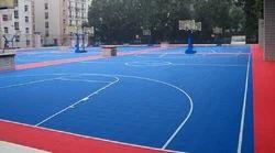 Indoor Badminton Courts Flooring Service