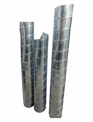 Spiral Flat oval duct - Spiral Ducts Manufacturer from Ahmedabad