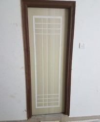 White Or Creme Color WPC Door