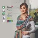 Organic baby carrier wrap