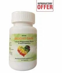 Sovam Weight Gain Capsule, For Clinical, Packaging Type: Bottle