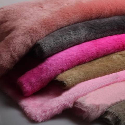 SHOES FUR FABRIC