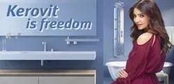 KEROVIT White Sanitary Ware, For Bathroom