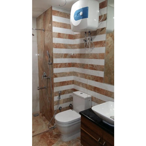 Bathroom stone wall panel euro interior - Bathroom wall covering instead of tiles ...