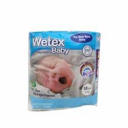 湿棉新出生的婴儿尿布,包装尺寸:10台PC