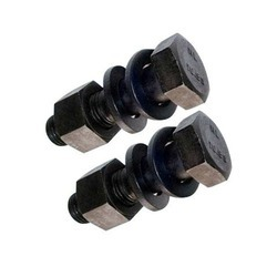 MS Hex Head Bolt Nut With Double Washer