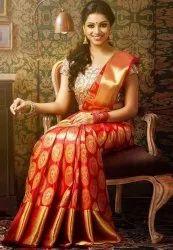 Wedding Sarees, With blouse piece
