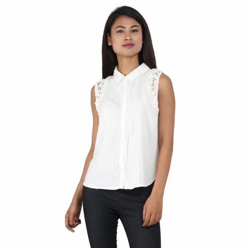4128c0524 Checks Party Wear Women Shirt