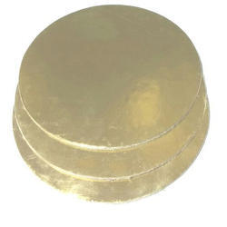 Golden Round Cake Base Board