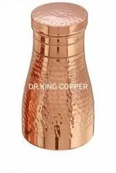 Hammered Copper Water Pot, For Home, Capacity: 1000ml