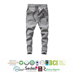 Cotton Mens Casual Trouser