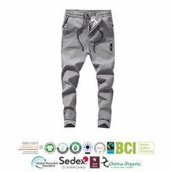 Cotton Mens Casual Trouser