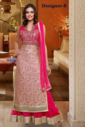 1b9ad8570 Stitched Ladies Mirror Stone Work Party Palazzo Pink Suits