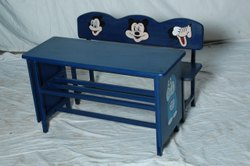 Squer Blue Nursery Play School Furniture