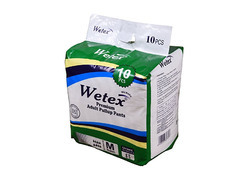 Wetex Pant Style Diaper Pant M ( For Waist Size 26-39 Inch