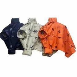 Cotton Collar Neck Mens Printed Shirt