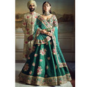 Green Traditional Lehenga Choli