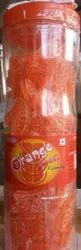 Rectangular Orange Candy, Packaging Type: Plastic Jar, Packaging Size: 15 Bottle Box